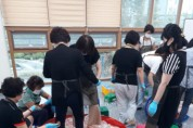 율곡동 새마을부녀회, EM흙공만들기 행사 개최